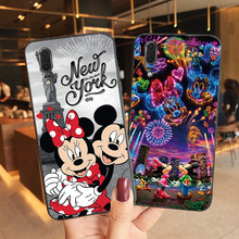 Disneys Case For Huawei P20 Pro P40 P30 Lite Funda Rock Mickey Minnie Princess Phone Cases New Soft TPU Back Cover Coque(China)