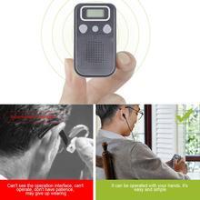 Мини-цифровой слуховой аппарат для усиления звуковых ушных усилителей, беспроводная помощь для пожилых людей от умеренного до сильного падения SF