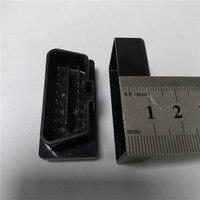 10 шт. черный чехол ELM327 OBD2 / OBDII ELM 327  черный чехол  только чехол  Бесплатная доставка