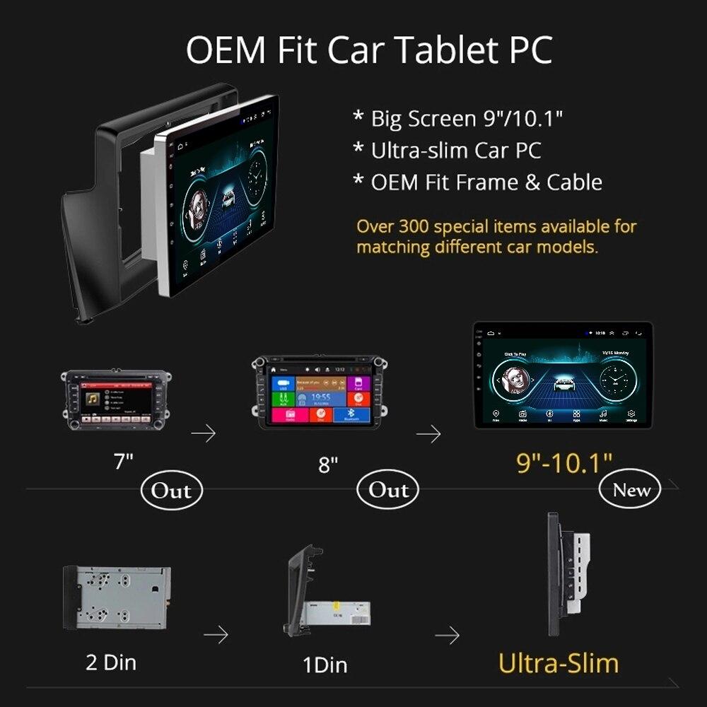 Radio de coche para PEUGEOT 308 408 unidad principal 2010 2016 sistema multimedia GPS soporte Carplay Cámara inversa SWC TV FM Android 8,1 9 - 6