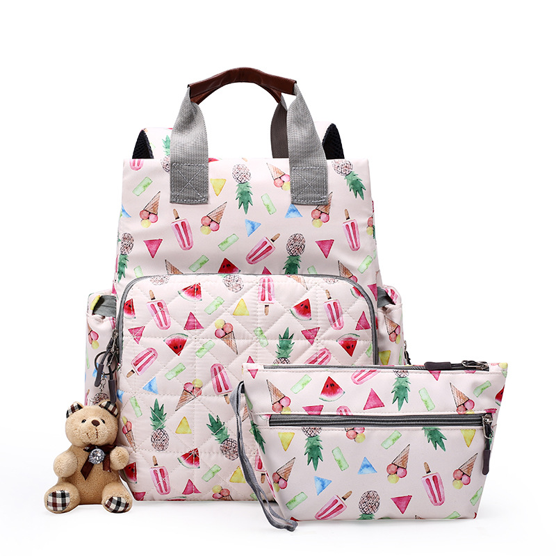 Stroller Bag Backpack Baby Diaper Bags Nappy Mother Maternity Mommy Wetbag Infant For Baby Care Organizer Bag Backbag