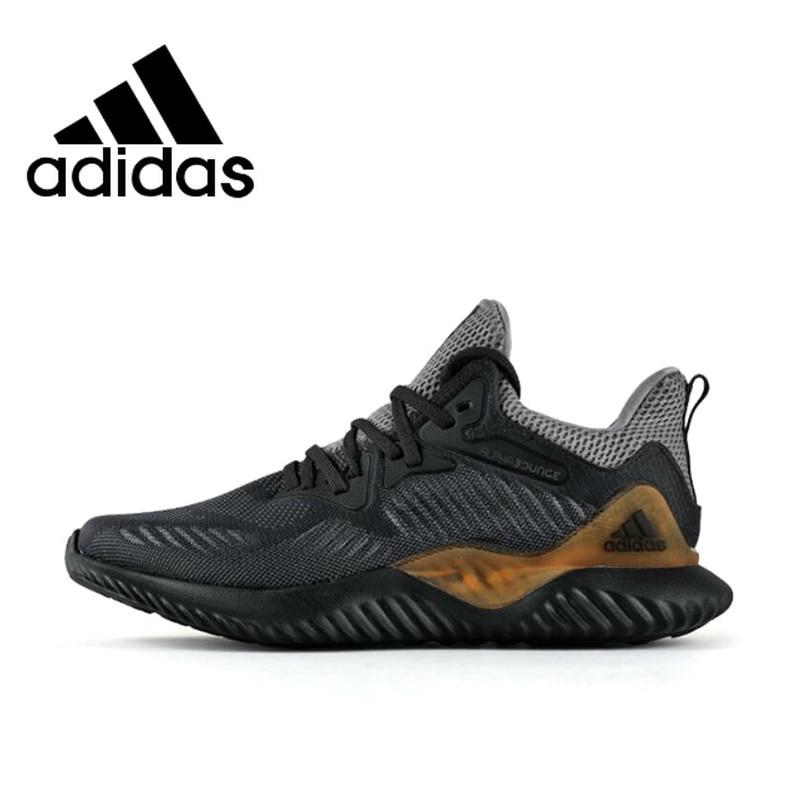 Original Adidas AlphaBounce Ultra Boost Pour Hommes Chaussures de Course Fitness Respirant Absorption des Chocs Protection Tennis Baskets AC8273 - 1
