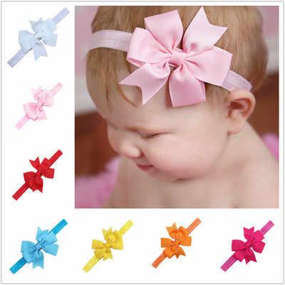 1 adet bebek kafa bantları şapkalar fiyonk düğüm Hairband kafa bandı bebek yenidoğan yaylar Toddlers 567