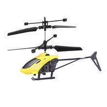 Игрушечный робот для детей, мини-Дрон RC 2CH, летающий мини Радиоуправляемый вертолет, индукционный вертолет, мигающий светильник, игрушки, Рождественский подарок