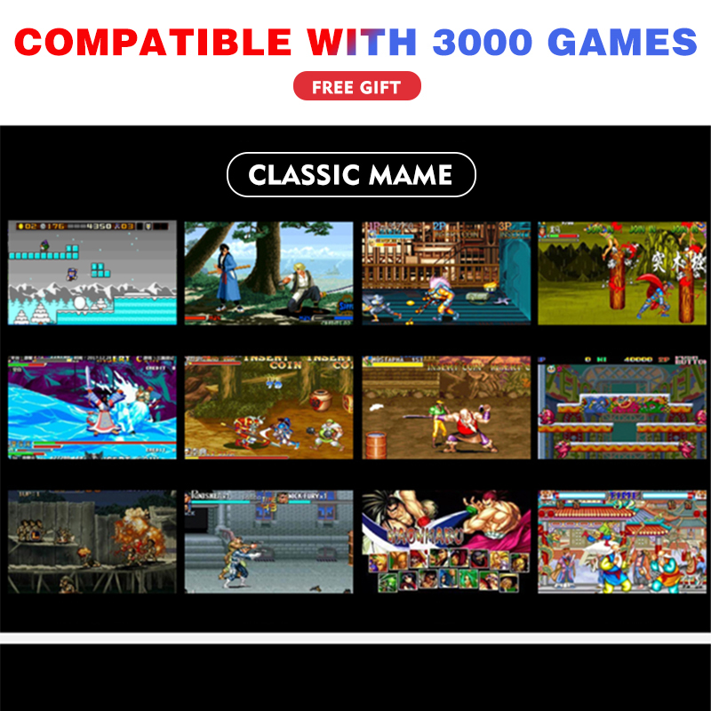 cheapest DATA FROG 4 3 5 7 inch Portable Handheld Game Console Dual Joystick Retro Video Game Console Support TV Output With MP3 Movie