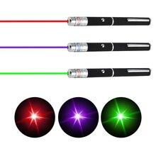 Лазерный прицел Указатель 5MW High Power Зеленый Синий Красный Dot лазерный луч Pen Мощный лазерный измеритель 405nm 532nm 650nm зеленый Lazer Pen Новый