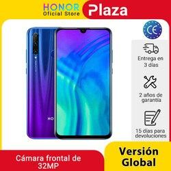 Глобальная версия Honor 20 Lite 4G 128G Kirin 710 смартфон фронтальная 32MP Face ID 24MP задняя камера Google Play'