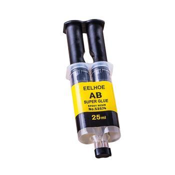 Praktyczny klej epoksydowy AB klej mocny klej płynny klej metalowy plastik drewno szkło ceramika klej do naprawy gospodarstwa domowego Super klej tanie i dobre opinie CN (pochodzenie) hydrauliczny Uszczelniacz silikonowy JE279628 AB Glue 4ml 25ml as shown