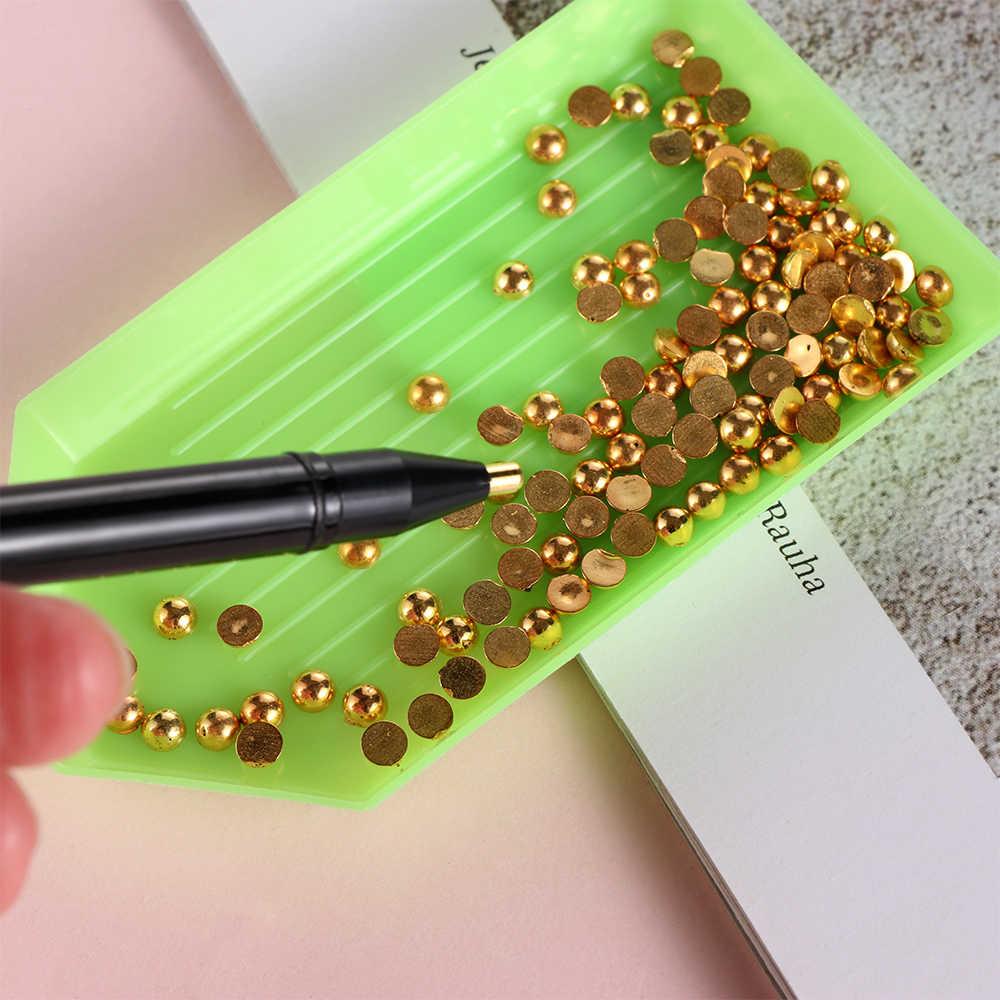1PC חדש קריקטורה חתול טופר 5D יהלומי ציור תרגיל נקודת עט DIY מלאכות תפירת רקמת כלי תפר צלב אבזרים