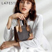 秋の新高級ハンドバッグファッションショルダーバッグクロスボディ女性のための 2019 LAFESTIN ブランドの女性のバッグ