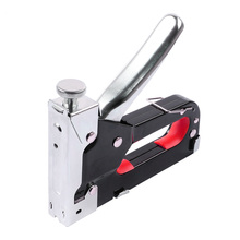 Manual 3-in-1 nail gun U-shaped T-shaped door type, multi-function, suitable for house decoration box binding, etc.
