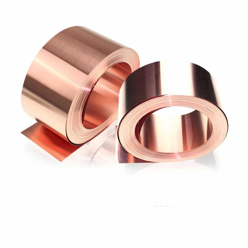 1PCS 99.9/% Pure Copper 0.4 x 200 x 1000mm New Cu Metal Sheet Foil