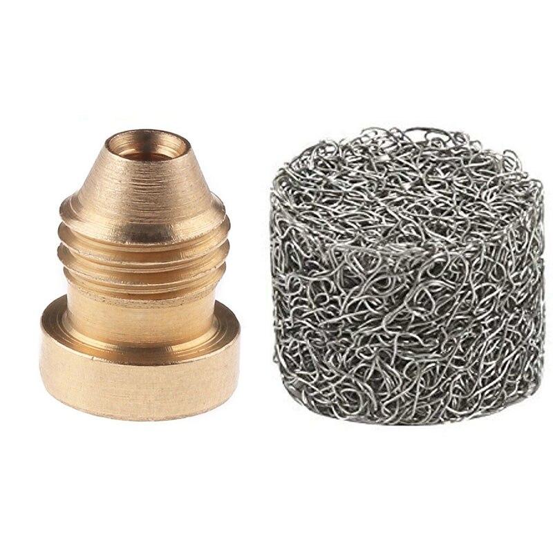 Universal 1.1mm Orifice Thread Nozzle Tips For Snow Foam Cannon Lance Brass NPT