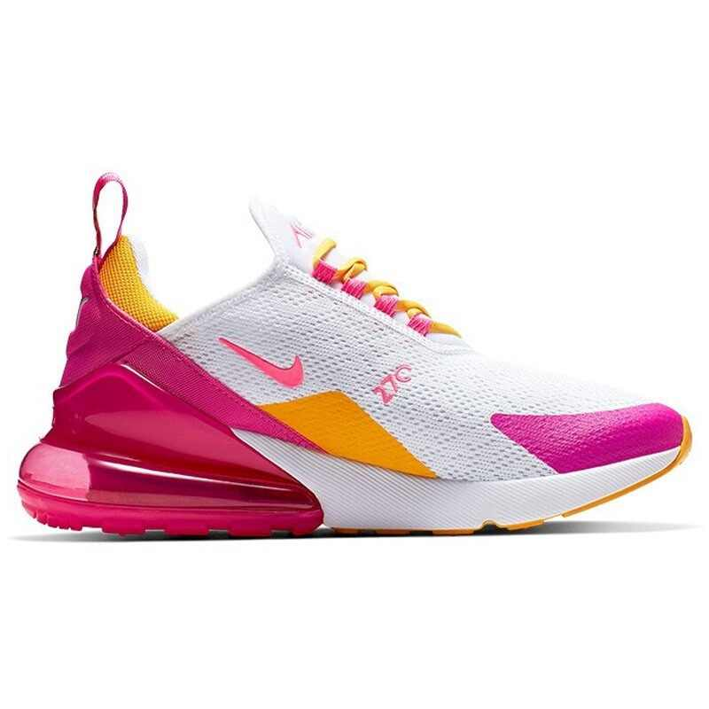 Оригинальные оригинальные женские кроссовки для бега Nike AIR MAX 270, удобные и прочные кроссовки для бега и прогулок на открытом воздухе AH8050