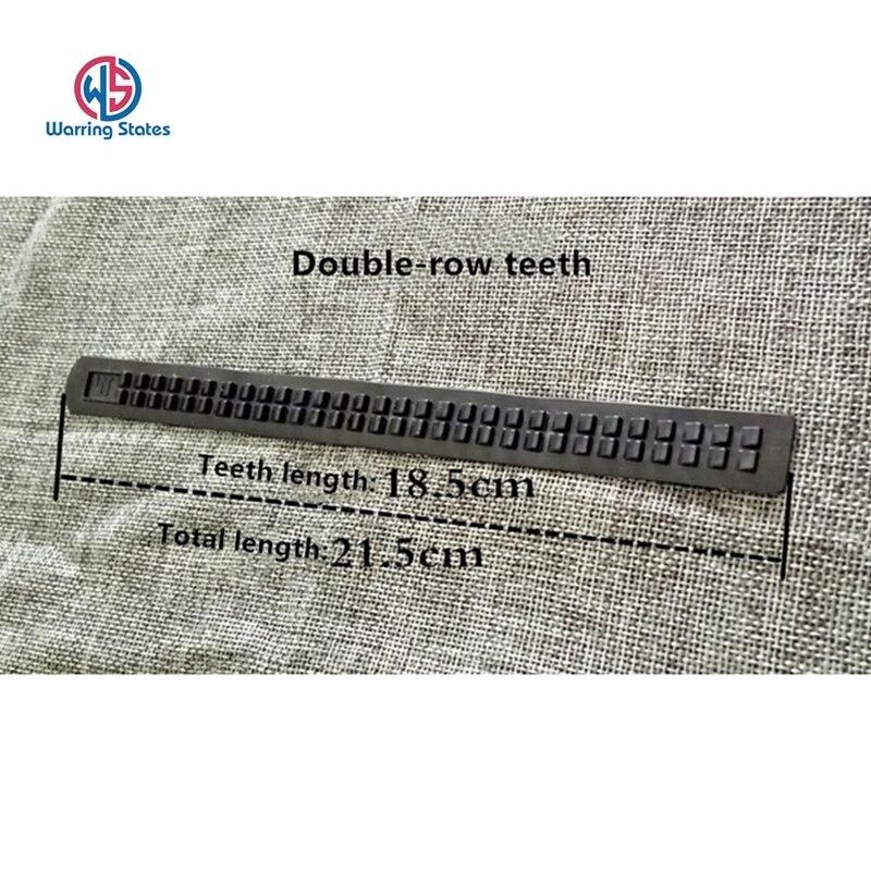 20pcs Production Of Belt Accessories Teeth Glue Strip Teeth Clasp Automatic Teeth Clasp Belt Clasp Teeth Rack Teeth Glue Thread