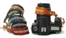Leather Camera Hand Wrist Strap Retro Hand-made DSLR Stylish Soft Comfort for Canon Nikon Sony Pentax Olympus Panasonic mcoplus 130 led video light photography lamp for canon nikon sony pentax panasonic samsung olympus dv camera camcorder vs cn 126