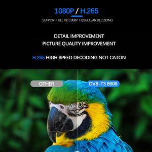Image 5 - Vmade 2020กล่องด้านบนDVB T2 TterrestrialรับFull HD 1080P DVB T2 H.265ถอดรหัสสนับสนุนBuilt WIFI Youtube TV BOX