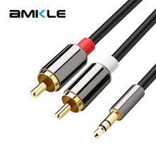 AMKLE AUX Cable Jack 3.5mm Audio Cable 3.5 mm Jack Speaker C