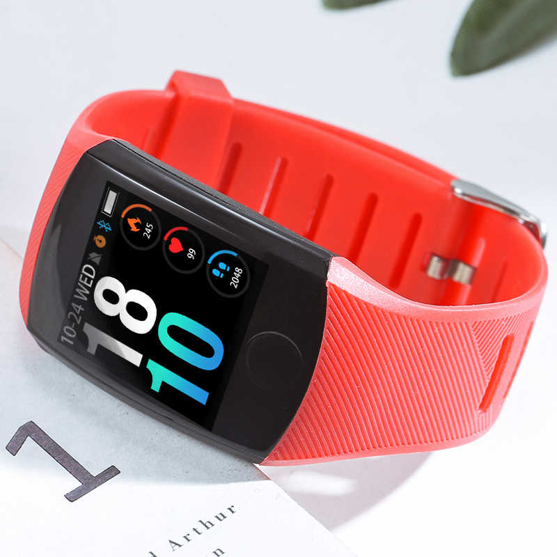ييج 2019 جديد الرجال ساعة ذكية ضغط الدم مراقب معدل ضربات القلب جهاز تعقب للياقة البدنية الرياضية Smartwatch الذكية الفرقة Reloj inteligente