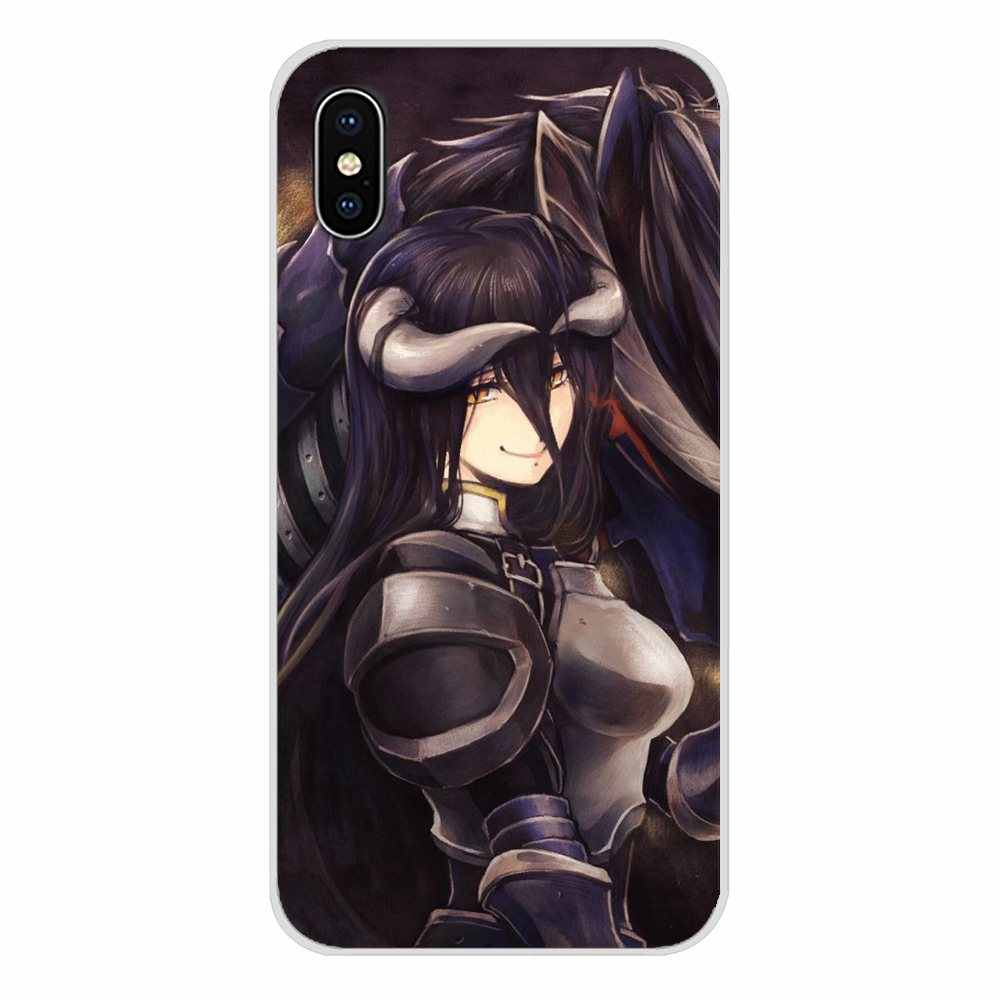 Untuk Motorola MOTO X4 E4 E5 G5 G5S G6 Z Z2 Z3 G G2 G3 C Play Albedo Overlorde aksesoris Ponsel Shell Cover