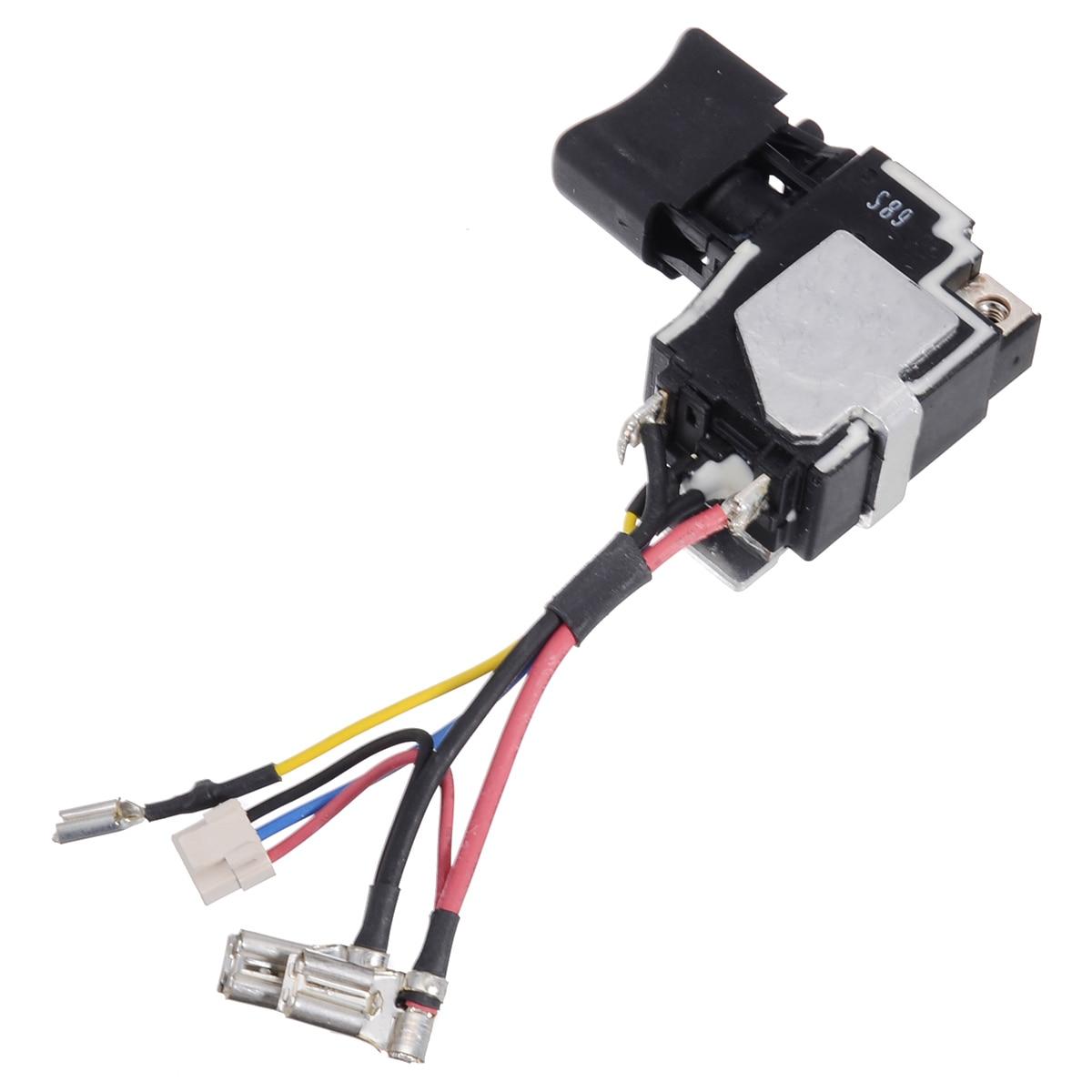 1Pcs Switch 18V Electrical Equipment For Makita 6507228 DTD134 BTD134 BTD146 DTD146 BTD134Z TD134D Switch