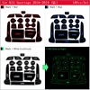 Anti-Slip Rubber Gate Slot Cup Mat For KIA Sportage 2016 2017 2018 2019 QL 4th Gen MK4 KX5 Coaster Accessories Car Stickers review