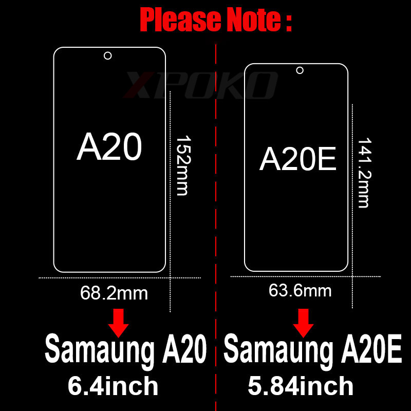 Image 5 - 3Pcs Tempered Glass For Samsung Galaxy A20 A30 A40 A70 A50 A20E Screen Protector For Samsung J4 J6 Plus A7 A9 2018 Glass Film-in Phone Screen Protectors from Cellphones & Telecommunications