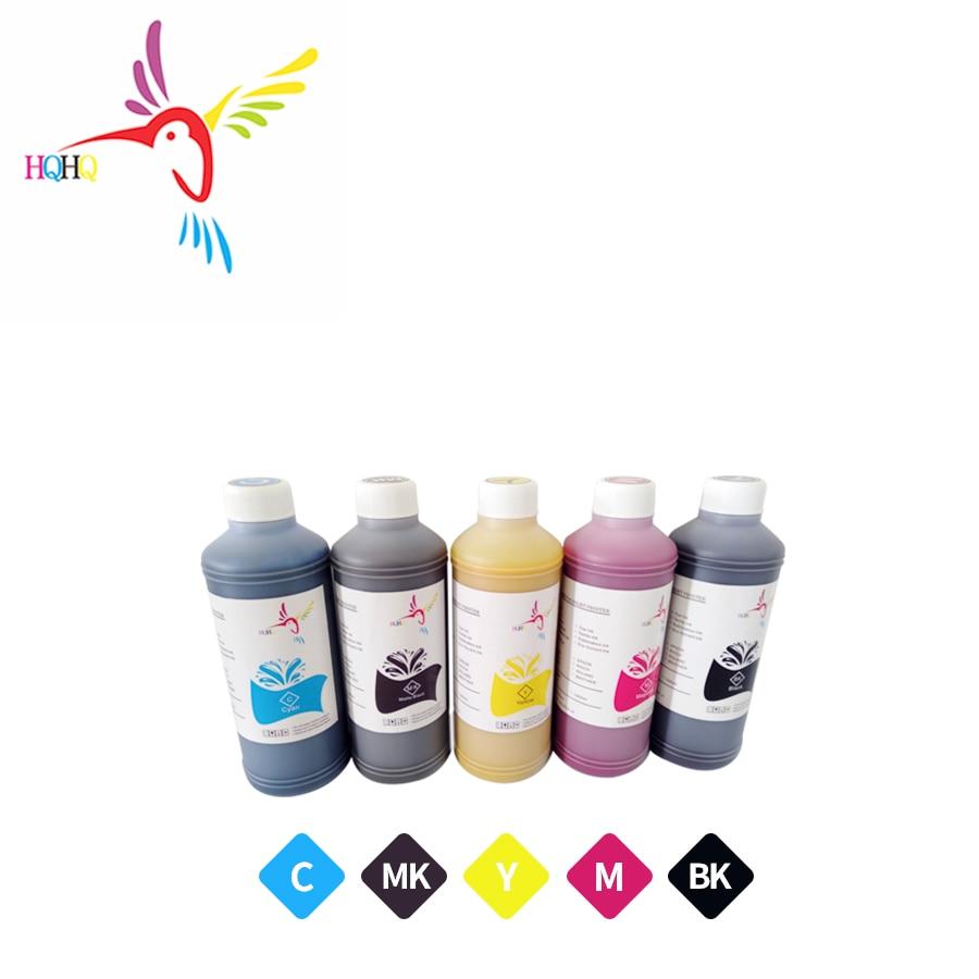 5pcs/set 1000ml Pigment ink Use 7700 9700 7710 9710 T3000 T5000 T7000 T3080 T5080 T7080 T3070 T5070 T7070