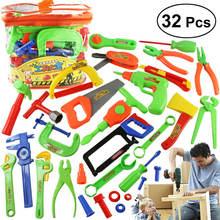 32 шт детей Инструменты для ремонта Игрушка Дети ролевые игры