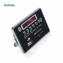 KebiduMP3 Mô Đun 5V 12V Tay MP3 Bộ Giải Mã Ban Bluetooth Máy Nghe Nhạc USB USB FM Aux Đài Phát Thanh dành Cho Xe Hơi Tích Hợp Điều Khiển