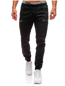 Classic Jeans Pants Motorcycle-Style Men's Casual High-Quality Denim Hip-Hop New HOT