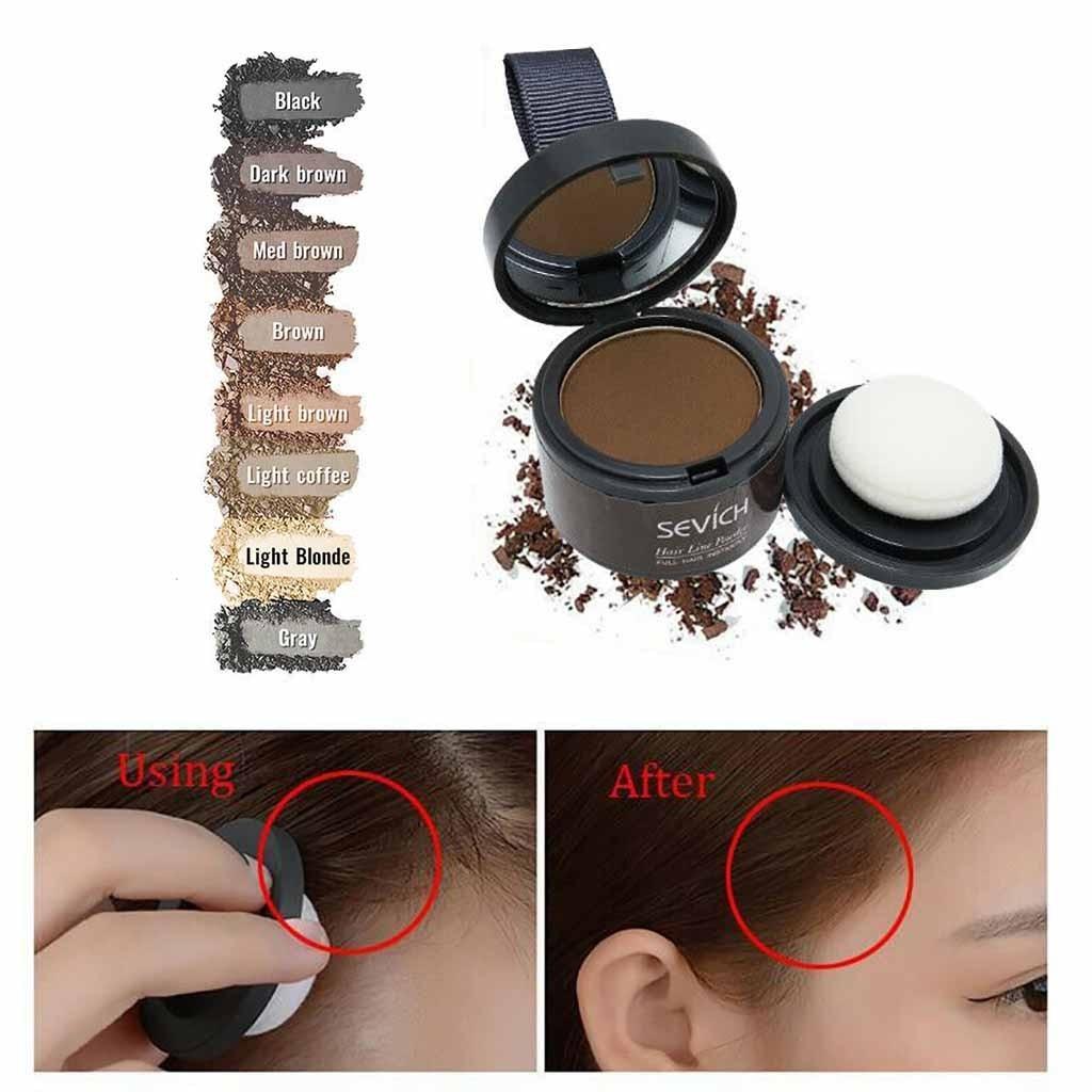 Makeup Hair Line Eyeshadow Powder Instant Fiber Cover Powder Eyebrow Powder Bronzer Makeup Hair Line Eyeshadow Instant Powder