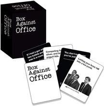 כרטיסים נגד משרד את האנושות משחק תיבת נגד משרד לוח משחק עם 352 כרטיסי משחק