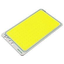 120x72 мм 12V 30W COB светодиодный Панель светильник 6500K холодный белый Цвет светодиодный доска для приготовления пищи на воздухе светильник ing раб...