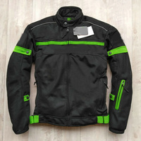 Wholesale Motocross summer winter motorcycle jacket for KAWASAKI Team Professional Motorcycle Racing Jacket with protective gear