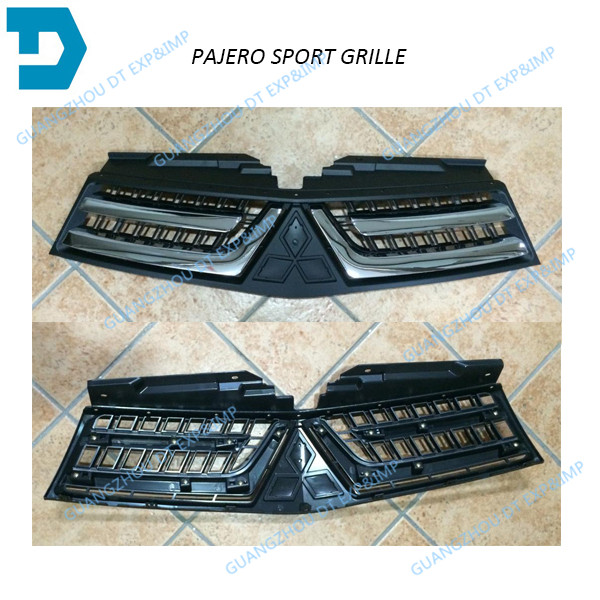 7450A868 FRONT GRILLE FOR PAJERO SPORT2013 2015 CHROME GRILLE FOR MONTERO SPORT  2014