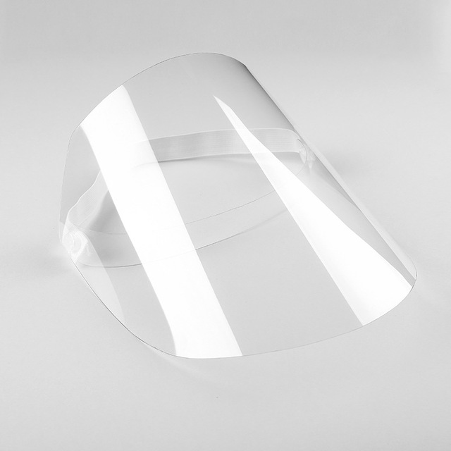 3 Pcs Transparent Masks Full Face Anti-droplets Anti-fog Saliva Face Shield Protective Cover protection Visor Shield Accessories 5
