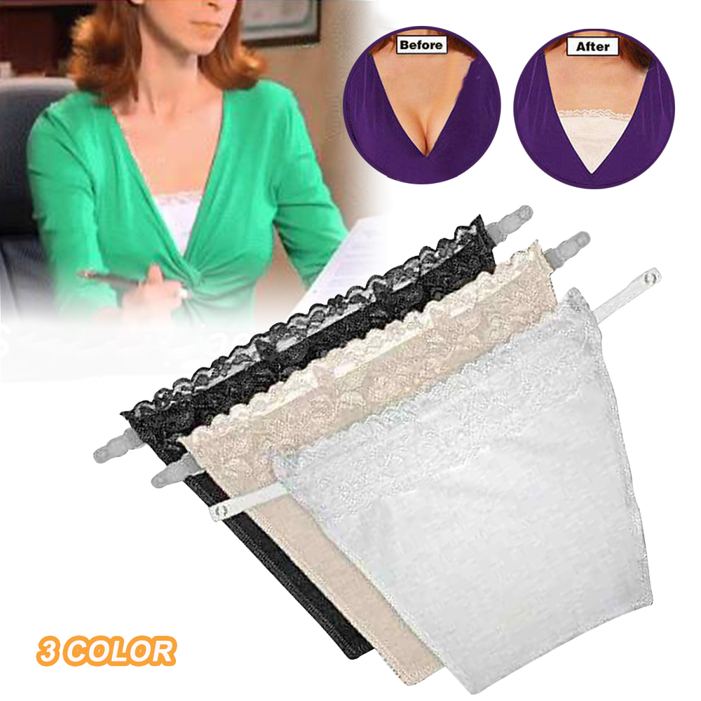 Anti Peep Invisible Bra Lace US 3Pcs
