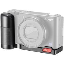 UURig – support de poignée pour caméra Sony ZV1, R055, plaque en L à dégagement rapide, pour prise de vue Verticale, micro Led, accessoires