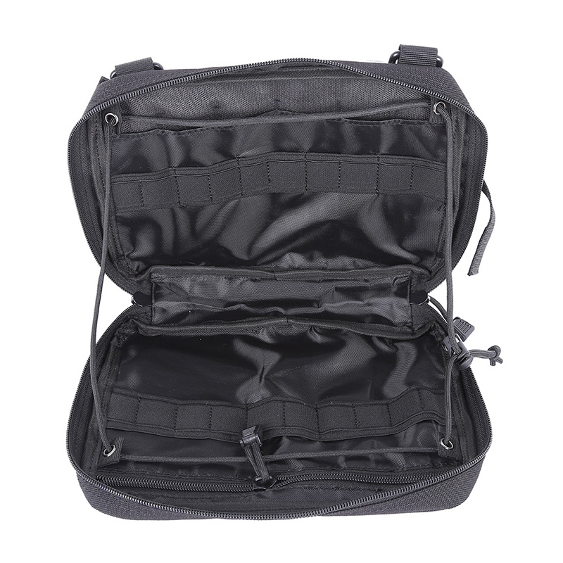 Tigris Military MOLLE Admin Pouch Tactical Multi Medical Kit Bag Utility Tool Belt EDC Pouch For Camping Hiking Hunting