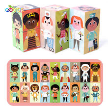 Childrens Educational Toys Childrens Building Blocks Various Role Puzzle Nurse Doctor Police Toy for kids girls boys gifts(China)