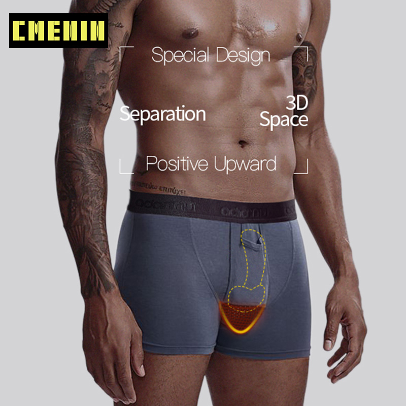 Sexy Boxers Men Underwear Boxershorts Cueca Male Panties Mens Underware Gay Men Cotton Breathable Modal Mens Underpants 2020 New