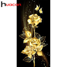 Huacan 5д цветы алмазная мазайка картина стразами aлмазная вышивка