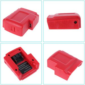 Image 5 - DC 12V USB Ports Battery  Charger Adapter Power Source for Milwaukee 49 24 2371 M18 Battery