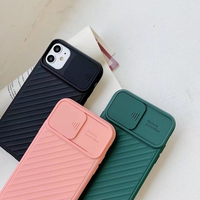 Popular Style TPU Soft Matte Smooth Hand Feeling Pure Color Camera Protection Phone Case For iphone 678/Plus XR XS MAX 11ProMax 4