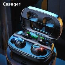 Essager S11 TWS беспроводные Bluetooth наушники в ухо мини беспроводные наушники гарнитура свободные наушники для iPhone Xiaomi Huawei