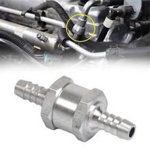 Алюминиевый сплав 6/8/10/12 мм односторонний топливный обратный клапан без возврата бензиновый дизельный клапан для автомобильного вакуумног...