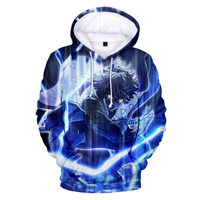 3D DEMON SLAYER THEMED HOODIE (17 VARIAN)