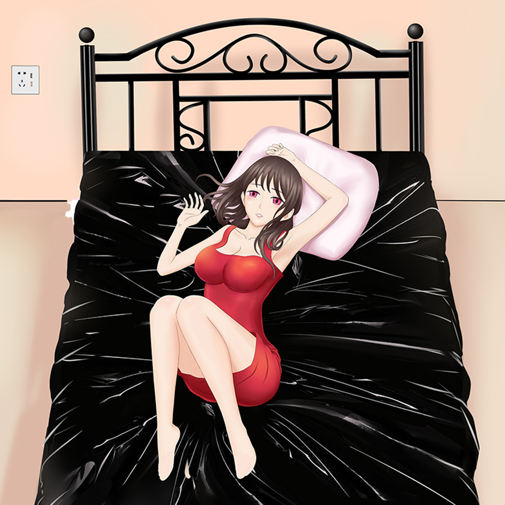 Adult Sex Bed <font><b>Sheets</b></font> Waterproof Bedding Massage Flirting Climax Adult Game Toys Reusable For Couple Passion Sex Tools image