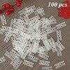 100pcs H Clips